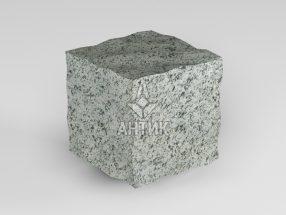 Брусчатка из Болтышского гранита 50x50x50 колотая фото