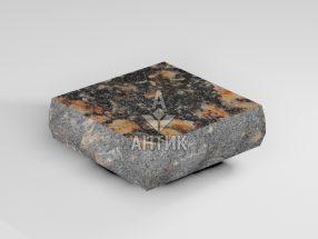 Брусчатка из Брусиловского гранита 100x100x30 пилено-колотая термообработанная фото