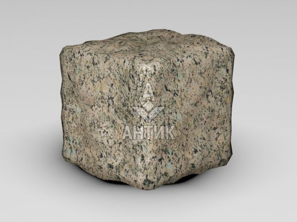 Брусчатка из Дидковичского гранита 100x100x100 галтованная фото