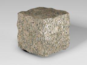 Брусчатка из Дидковичского гранита 100x100x100 колотая фото