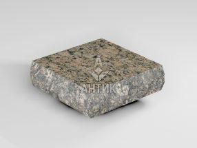 Брусчатка из Дидковичского гранита 100x100x30 пилено-колотая термообработанная фото