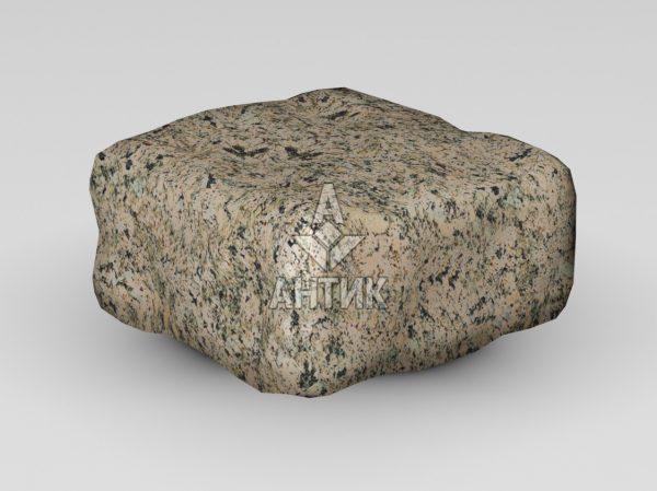 Брусчатка из Дидковичского гранита 100x100x50 галтованная фото