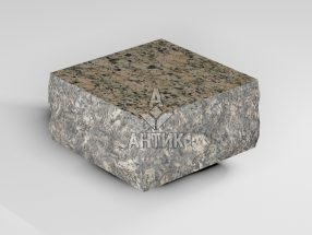 Брусчатка из Дидковичского гранита 100x100x50 пилено-колотая термообработанная фото