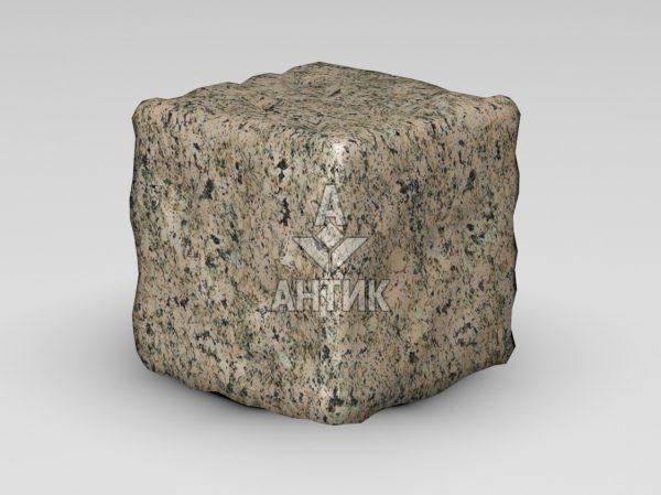 Брусчатка из Дидковичского гранита 150x150x150 галтованная фото