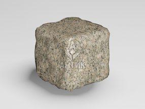 Брусчатка из Дидковичского гранита 50x50x50 галтованная фото