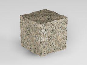 Брусчатка из Дидковичского гранита 50x50x50 колотая фото