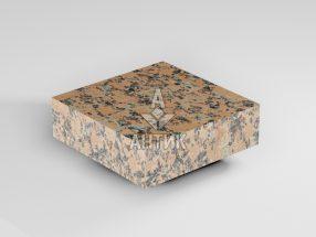 Брусчатка из Емельяновского гранита 100x100x30 пиленая термообработанная фото