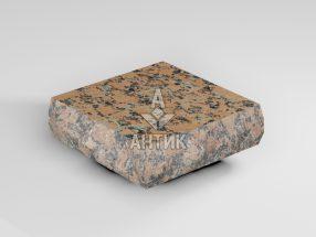 Брусчатка из Емельяновского гранита 100x100x30 пилено-колотая термообработанная фото