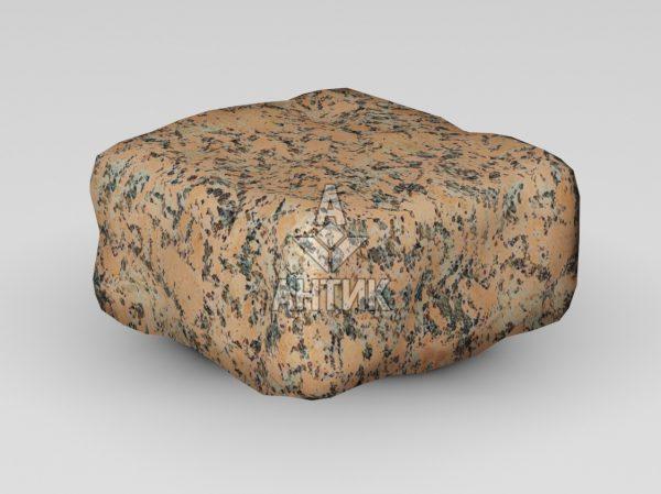 Брусчатка из Емельяновского гранита 100x100x50 галтованная фото