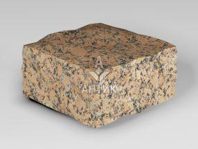 Брусчатка из Емельяновского гранита 100x100x50 колотая фото