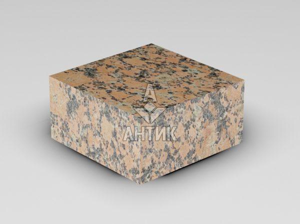 Брусчатка из Емельяновского гранита 100x100x50 пиленая термообработанная фото