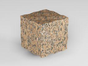 Брусчатка из Емельяновского гранита 50x50x50 колотая фото