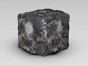 Брусчатка из Головинского лабрадорита 100x100x100 галтованная фото