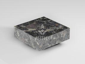 Брусчатка из Головинского лабрадорита 100x100x30 пиленая термообработанная фото