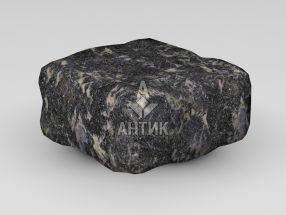 Брусчатка из Головинского лабрадорита 100x100x50 галтованная фото