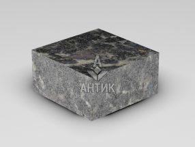 Брусчатка из Головинского лабрадорита 100x100x50 пиленая термообработанная фото