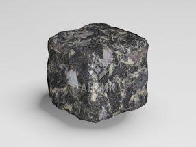 Брусчатка из Головинского лабрадорита 50x50x50 галтованная фото