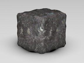 Брусчатка из Горбулевского лабрадорита 100x100x100 галтованная фото