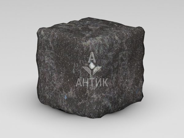 Брусчатка из Горбулевского лабрадорита 150x150x150 галтованная фото