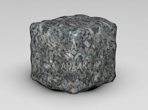 Брусчатка из Каменная Печь лабрадорита 100x100x100 галтованная фото