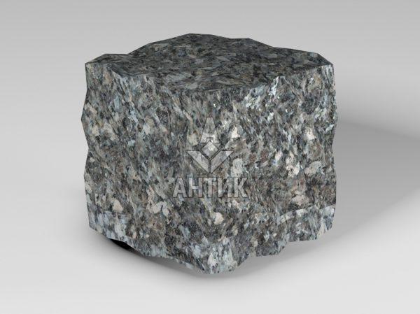 Брусчатка из Каменная Печь лабрадорита 100x100x100 колотая фото