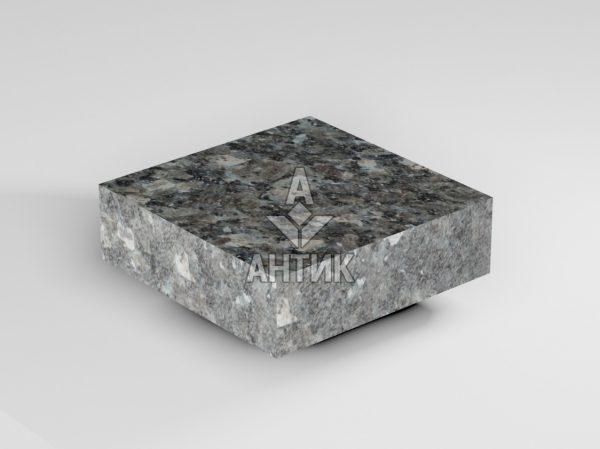 Брусчатка из Каменная Печь лабрадорита 100x100x30 пиленая термообработанная фото