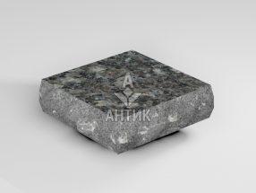 Брусчатка из Каменная Печь лабрадорита 100x100x30 пилено-колотая термообработанная фото