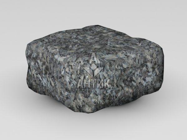 Брусчатка из Каменная Печь лабрадорита 100x100x50 галтованная фото