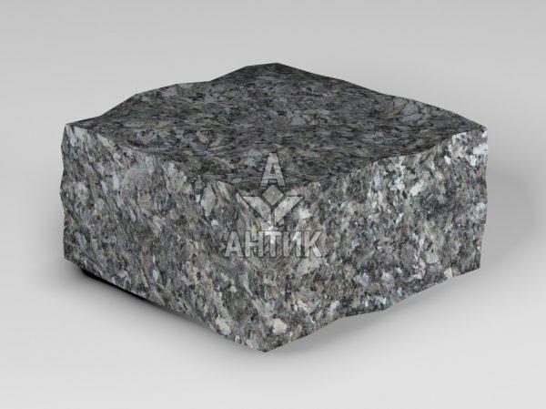 Брусчатка из Каменная Печь лабрадорита 100x100x50 колотая фото