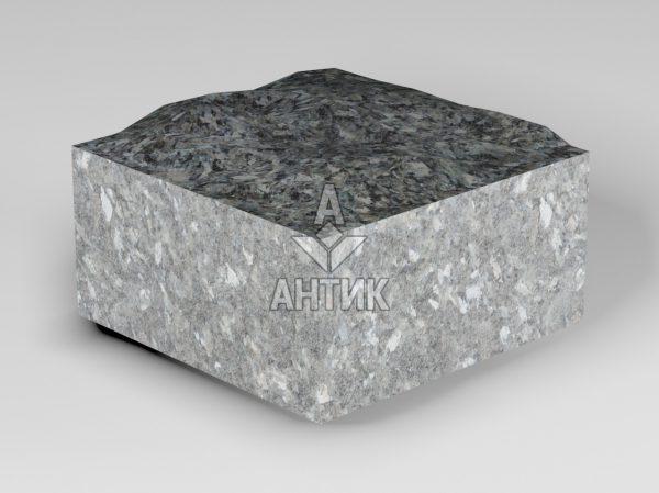 Брусчатка из Каменная Печь лабрадорита 100x100x50 пилено-колотая фото