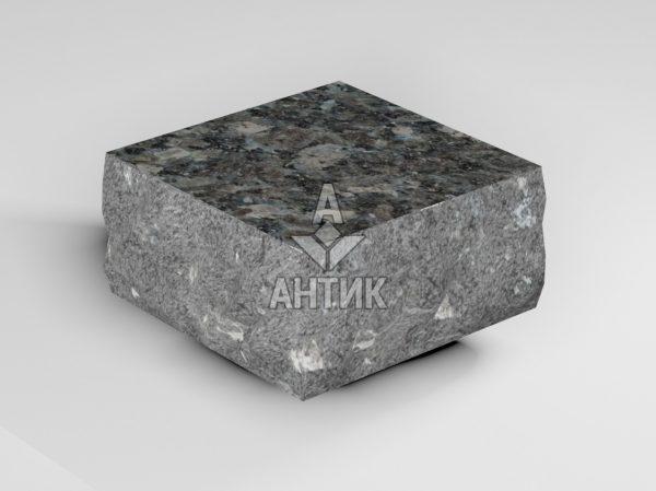 Брусчатка из Каменная Печь лабрадорита 100x100x50 пилено-колотая термообработанная фото