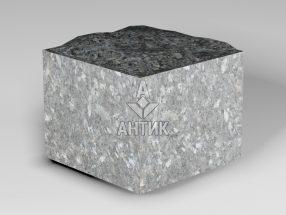 Брусчатка из Каменная Печь лабрадорита 100x100x80 пилено-колотая фото