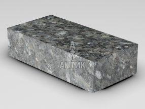 Брусчатка из Каменная Печь лабрадорита 200x100x50 пиленая термообработанная фото
