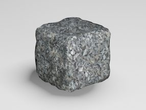 Брусчатка из Каменная Печь лабрадорита 50x50x50 галтованная фото