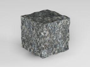 Брусчатка из Каменная Печь лабрадорита 50x50x50 колотая фото