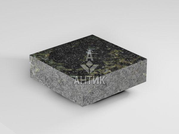 Брусчатка из Каменнобродского лабрадорита 100x100x30 пиленая термообработанная фото