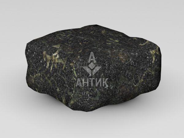 Брусчатка из Каменнобродского лабрадорита 100x100x50 галтованная фото