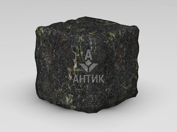 Брусчатка из Каменнобродского лабрадорита 150x150x150 галтованная фото