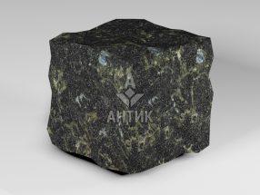 Брусчатка из Каменнобродского лабрадорита 150x150x150 колотая фото