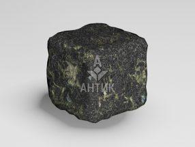Брусчатка из Каменнобродского лабрадорита 50x50x50 галтованная фото