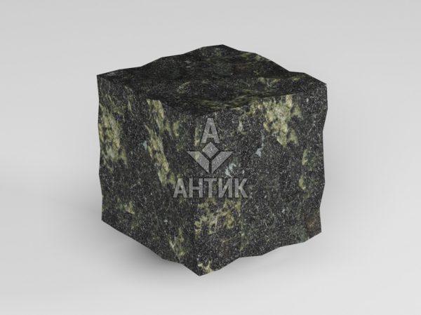 Брусчатка из Каменнобродского лабрадорита 50x50x50 колотая фото