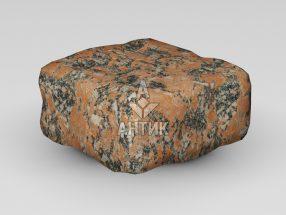 Брусчатка из Капустинского гранита 100x100x50 галтованная фото