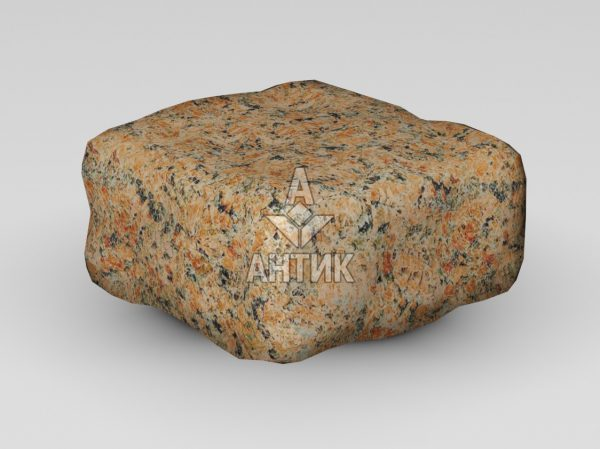 Брусчатка из Кишинского гранита 100x100x50 галтованная фото