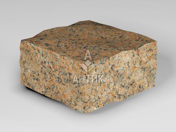 Брусчатка из Кишинского гранита 100x100x50 колотая фото