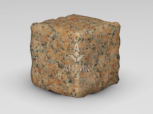 Брусчатка из Кишинского гранита 150x150x150 галтованная фото