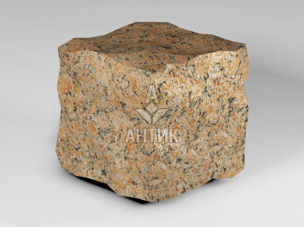 Брусчатка из Кишинского гранита 150x150x150 колотая фото