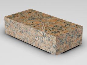 Брусчатка из Кишинского гранита 200x100x50 пиленая термообработанная фото
