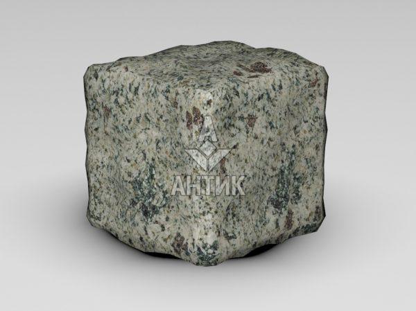 Брусчатка из Константиновского гранита 100x100x100 галтованная фото