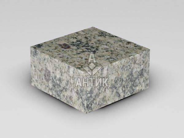 Брусчатка из Константиновского гранита 100x100x50 пиленая термообработанная фото