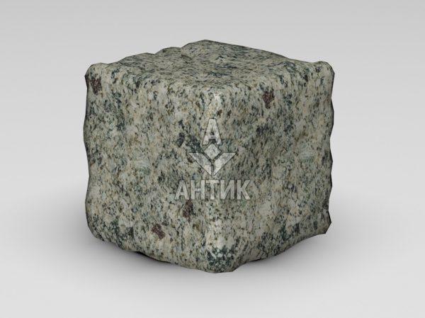Брусчатка из Константиновского гранита 150x150x150 галтованная фото